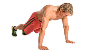 Man doing press-ups