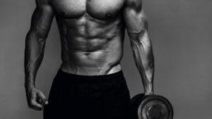 Ripped gym body
