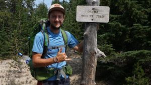 Harry Firth trekking for prostate cancer