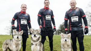 Rugby stars Mike Tindall, Will Greenwood, Neil Back take on The Wolf Run